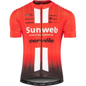 Craft Team Sunweb Replica Koszulka z krótkim rękawem Mężczyźni, sunweb red